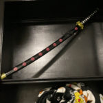 one piece roronoa zoro shusui flower